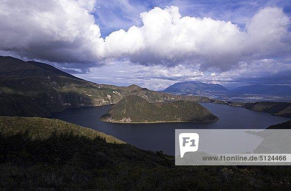 Ecuador Imbabura Provinz  Vulkan