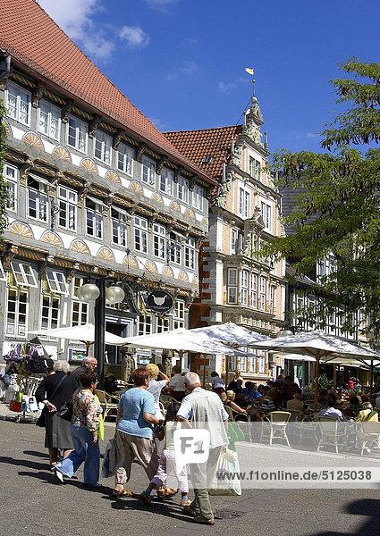 Deutschland  Niedersachsen  Hameln  Stadtmitte