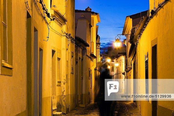Streets of Evora  Alentejo Portugal  Europe