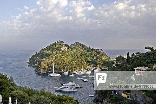 Italien Ligurien Portofino