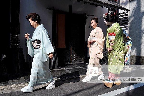 Frau  Tradition  Lehrling  Geisha  Kyoto