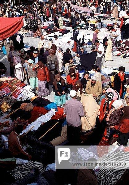 Sunday market of Kashgar  Xinjiang