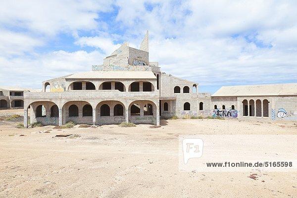 Eingestelltes Bauvorhaben auf Fuerteventura,  Spanien
