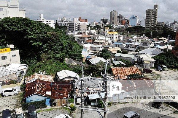 Großstadt Nachbarschaft Ansicht