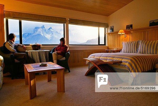 Hotel  UNESCO-Welterbe  Chile  Patagonien  Südamerika