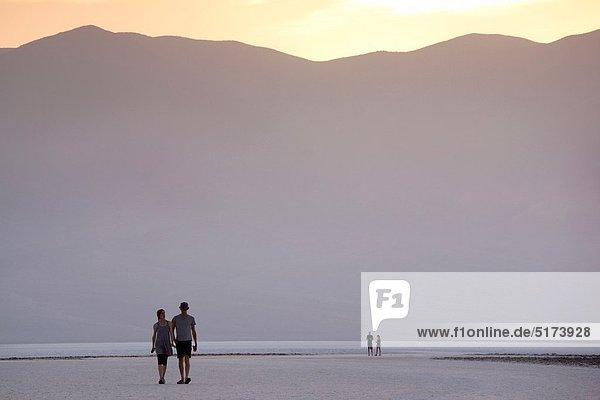 Vereinigte Staaten von Amerika  USA  Meer  zeigen  Death Valley Nationalpark  unterhalb  Kalifornien