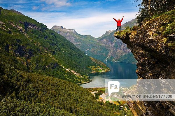 Norwegen Fjord Geiranger