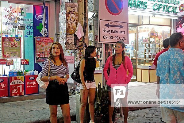 THAILAND Pattaya, beach resort and centre for sex tourism Bar girls and ...