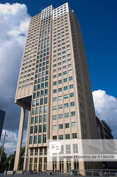 Hafen Europa Gebäude Straße vorwärts Zimmer Niederlande alt Rotterdam
