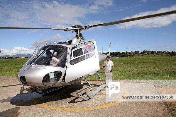 Hubschrauber  Fiji