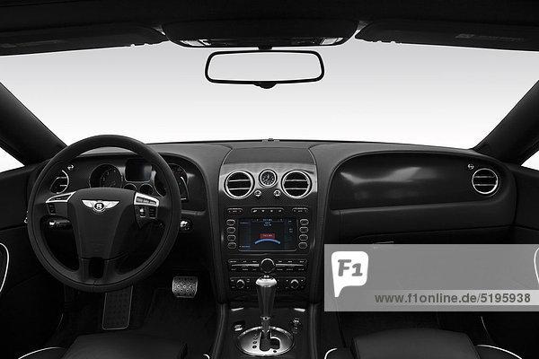 2011 Bentley Continental Supersports in blau - Dashboard  Mittelkonsole  gear Shifter-Ansicht
