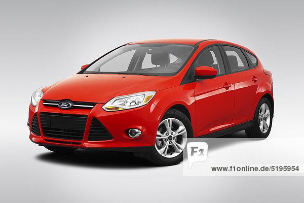 Fokus frontal rot Ansicht Flachwinkelansicht Winkel Ford