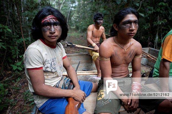 Indianer  Jagd  Brasilien