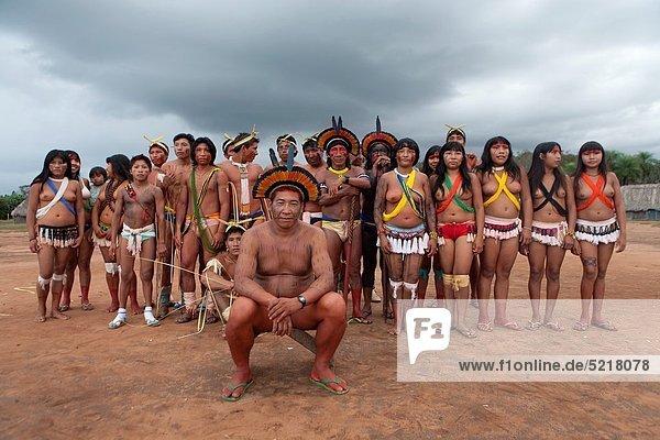 Tradition  tanzen  Indianer  Brasilien
