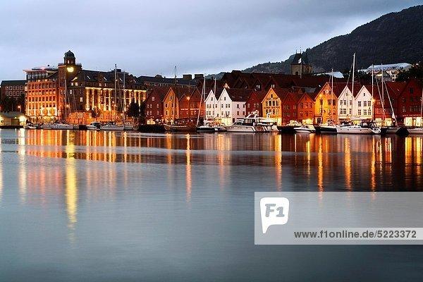 Norwegen Bergen Hordaland