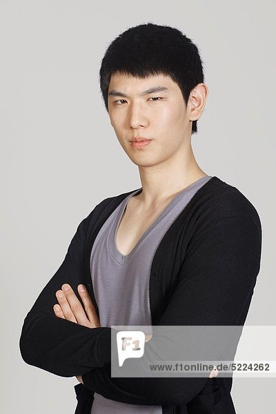 Mann  südkoreanisch  schießen  Studioaufnahme