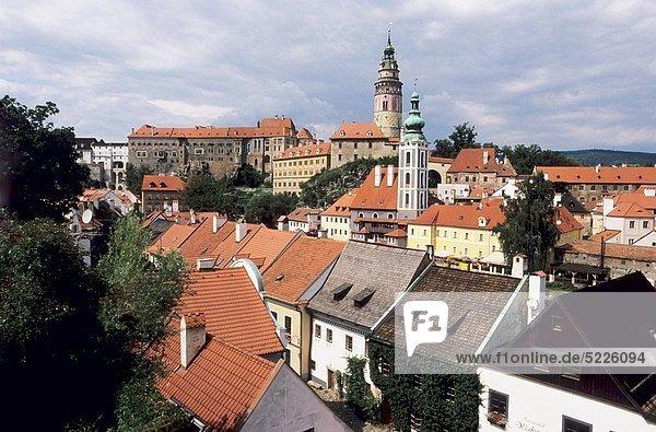 Baustelle Palast Schloß Schlösser Tschechische Republik Tschechien Ansicht Liste UNESCO-Welterbe
