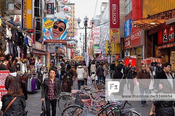 Asien  Japan  Osaka