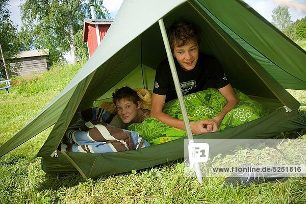Holiday at summer cottage  North of Sweden