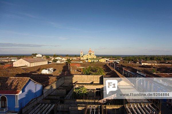 Glockenturm See Kathedrale Granada Merced Nicaragua