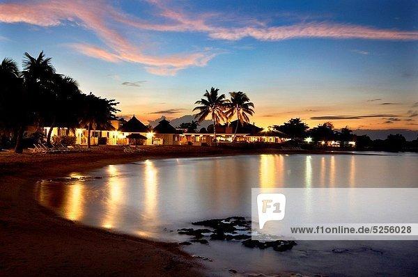 Sonnenuntergang  Abenddämmerung  Jamaika