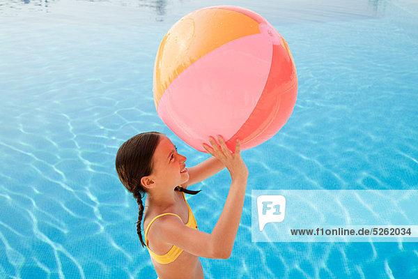 Strand Schwimmbad Ball Spielzeug Mädchen