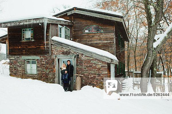 Außenaufnahme Portrait Wohnhaus Ländliches Motiv ländliche Motive