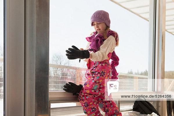 Winter Kleidung Mädchen bekommen