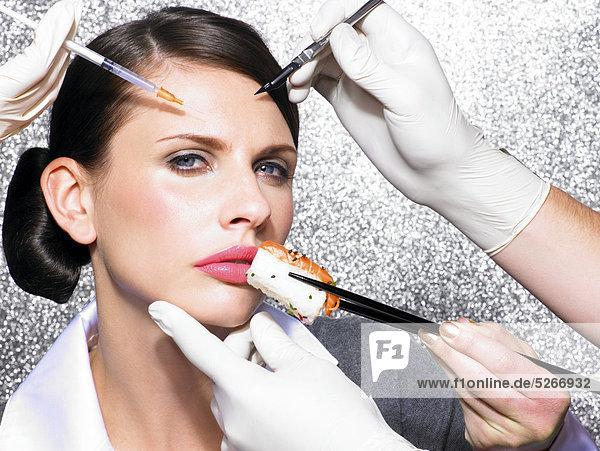 Kosmetische Chirurgie in der Mittagspause