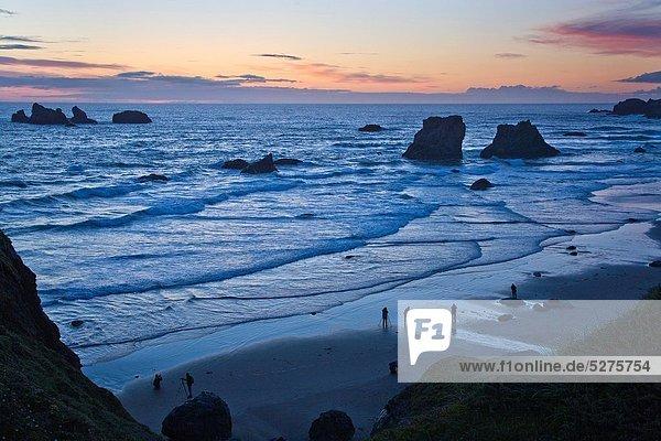 Strand  Sonnenuntergang  Ozean  Küste  Fotograf  Pazifischer Ozean  Pazifik  Stiller Ozean  Großer Ozean  Bandon  Oregon