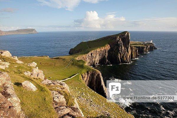 Leuchtturm  Insel  zeigen  Argyll and Bute  Schottland  Skye