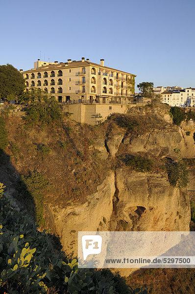 Hotel Parador de Ronda  Ronda  Malaga Provinz  Andalusien  Spanien  Europa