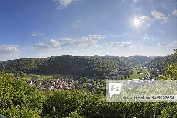 Muggendorf  Wiesenttal  Fr‰nkische Schweiz  Oberfranken  Franken  Bayern  Deutschland  Europa  ÷ffentlicherGrund