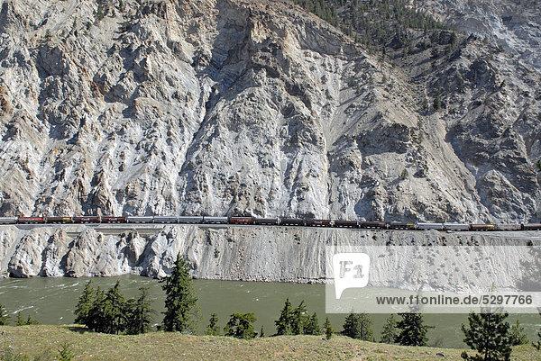 Great Pacific Railway  Cache Creek  British Columbia  Kanada  Nordamerika