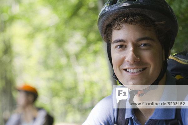 Mountainbiker  Portrait