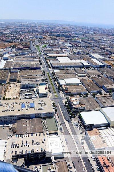 Son Castelló industrial zone  Palma de Mallorca  Mallorca  Balearic Islands  Spain