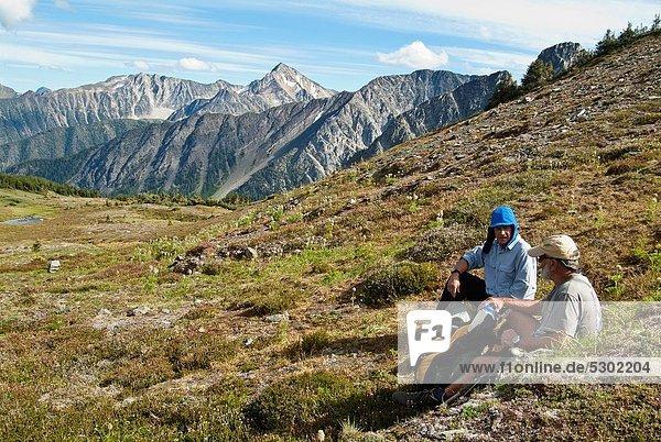 Berg  Küste  wandern  2  British Columbia  Kanada