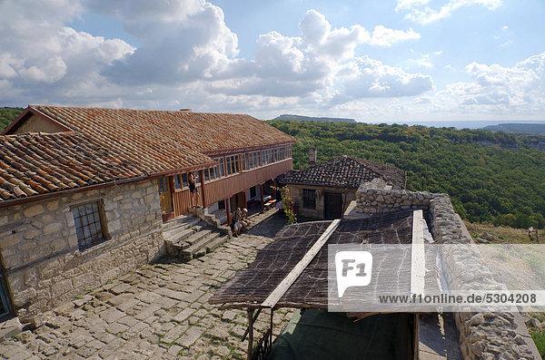 «ufut Qale  Chufut-Kale  cave city  Jewish fortress  Crimea  Ukraine  Eastern Europe