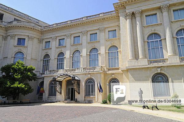 Kunstmuseum  Nationalgalerie  Bukarest  Rumänien  Osteuropa