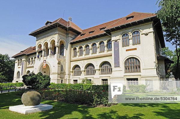 Geologisches Institut  Museum für Geologie  Bukarest  Rumänien  Osteuropa  ÖffentlicherGrund