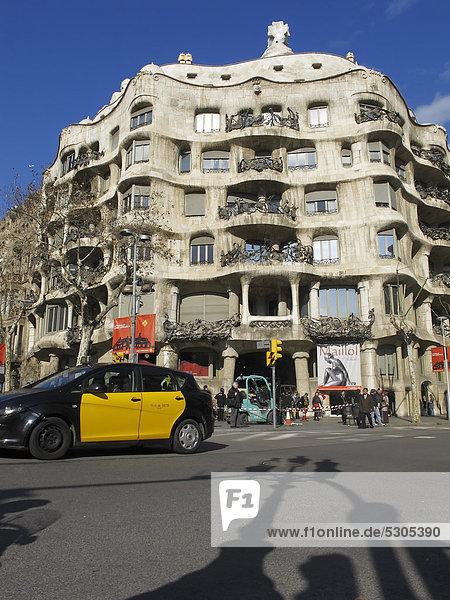 Europa UNESCO-Welterbe Barcelona Spanien