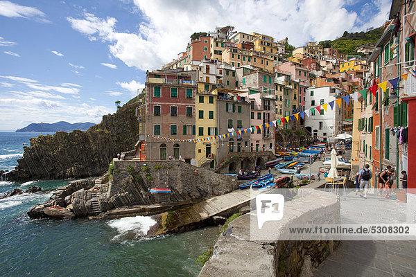 Europa Cinque Terre Italien Provinz La Spezia