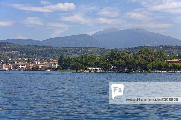 Europa Gardasee Venetien Italien
