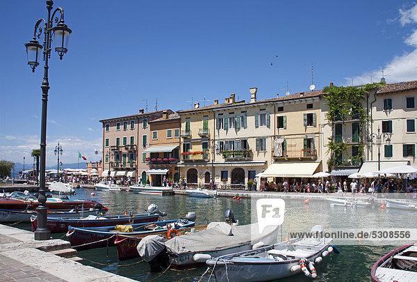 Europa Restaurant Gardasee Venetien Italien