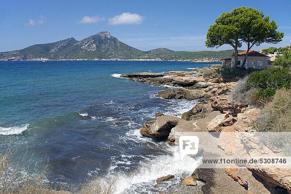 entfernt Europa Insel Balearen Balearische Inseln Mallorca Spanien