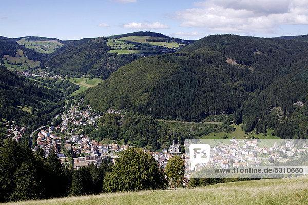 Europa Berg Baden-Württemberg Deutschland Todtnau