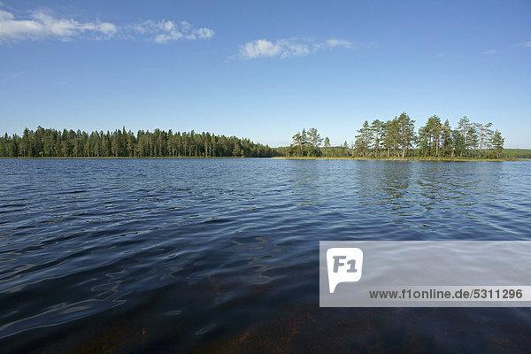 See bei Kuusamo  Finnland  Europa