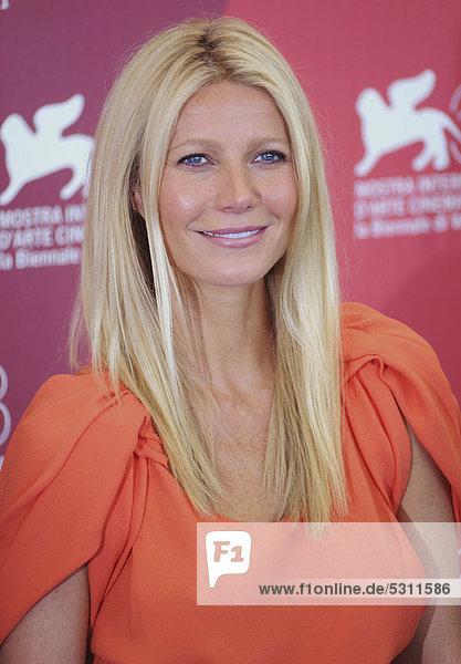 Gwyneth Paltrow beim Pressetermin zu CONTAGION  68. Internationale Filmfestspiele von Venedig  Italien  Europa