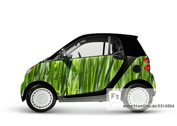 Smart Fortwo  grünes kraftstoffsparendes Stadtauto  2008