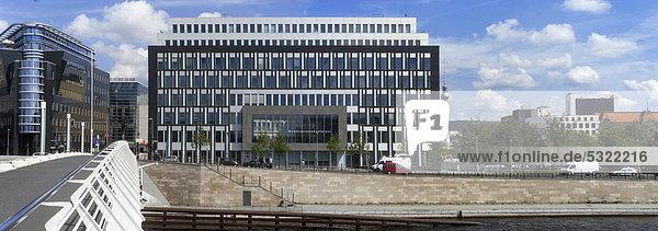 Gebäude der Bundespressekonferenz  Berlin  Deutschland  Europa